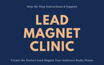 Lead Magnet Clinic Sign-Up Form