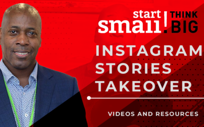 My Instagram Stories Takeover with Start Small Think Big