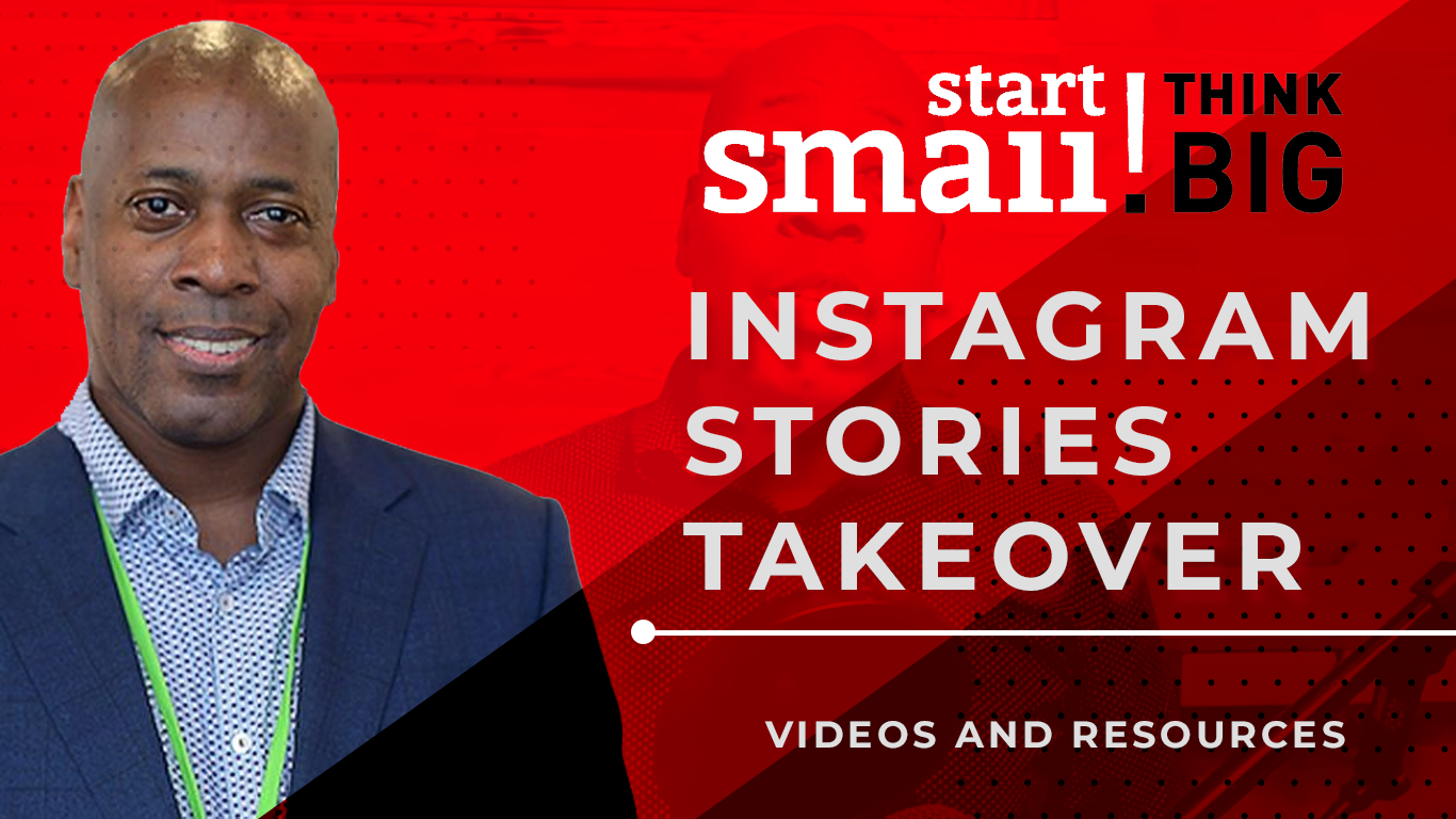 Start Small Think Big Instagram Takeover with Jimmy Newson